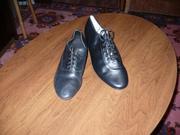 туфли бальные мужкие кожаные