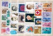 Отдам даром начинающему филателисту кучку марок