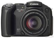 Продам б/у фотоаппарат Canon PowerShot S3 IS.