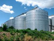 Зернохранилища с конусным днищем с углом от *45 до 60