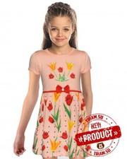 Новинки! Трикотажные платья для девочек