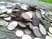 Монеты СССР в кол-ве 412штук,